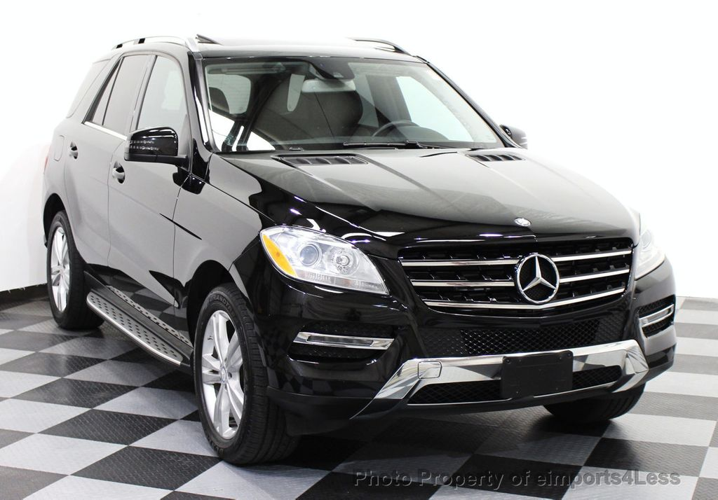 2014 used mercedes benz m class certified ml350 4matic for Mercedes benz ml350 bluetec 4matic