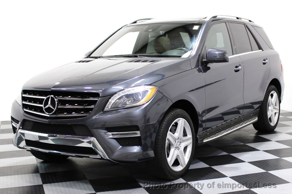 2014 Mercedes-Benz M-Class CERTIFIED ML550 4MATIC V8 AWD PANO CAM NAVI - 16611890 - 0