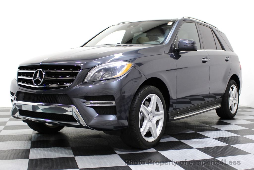 2014 Mercedes-Benz M-Class CERTIFIED ML550 4MATIC V8 AWD PANO CAM NAVI - 16611890 - 13