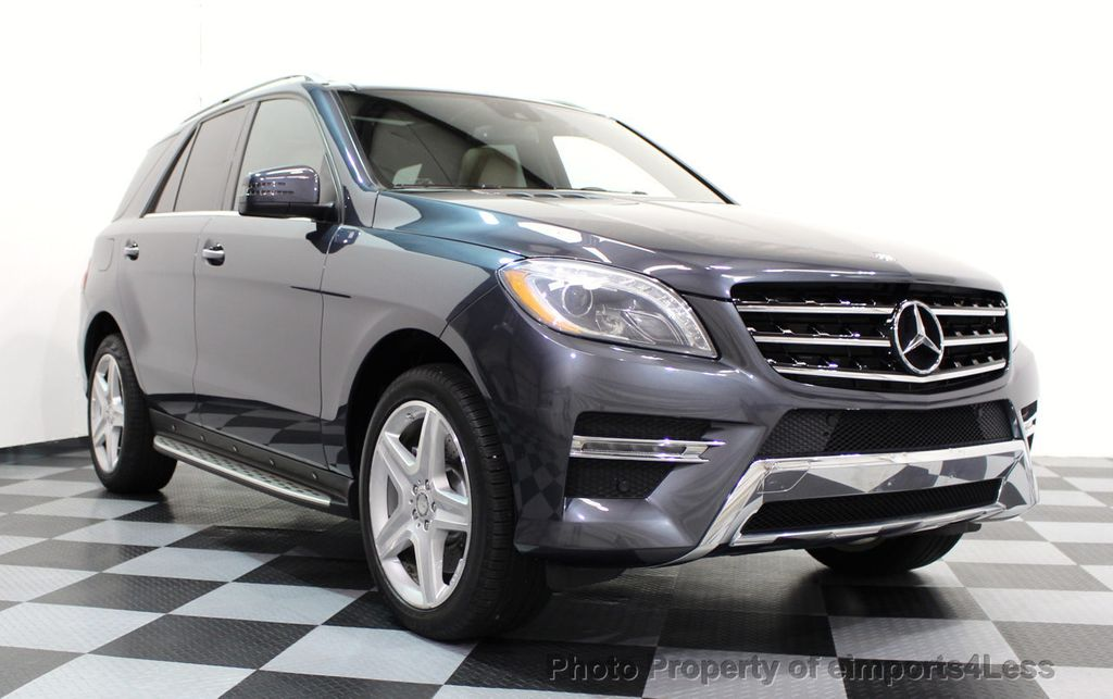 2014 Mercedes-Benz M-Class CERTIFIED ML550 4MATIC V8 AWD PANO CAM NAVI - 16611890 - 14