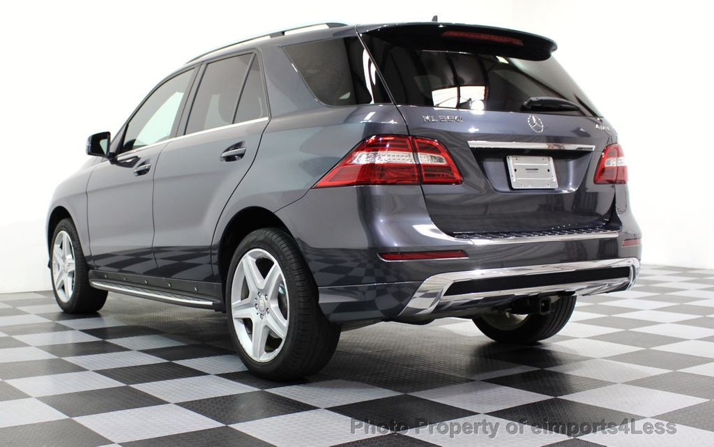 2014 Mercedes-Benz M-Class CERTIFIED ML550 4MATIC V8 AWD PANO CAM NAVI - 16611890 - 15