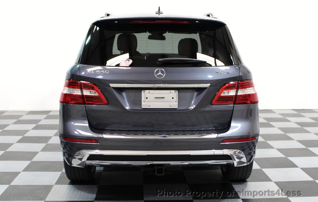 2014 Mercedes-Benz M-Class CERTIFIED ML550 4MATIC V8 AWD PANO CAM NAVI - 16611890 - 16