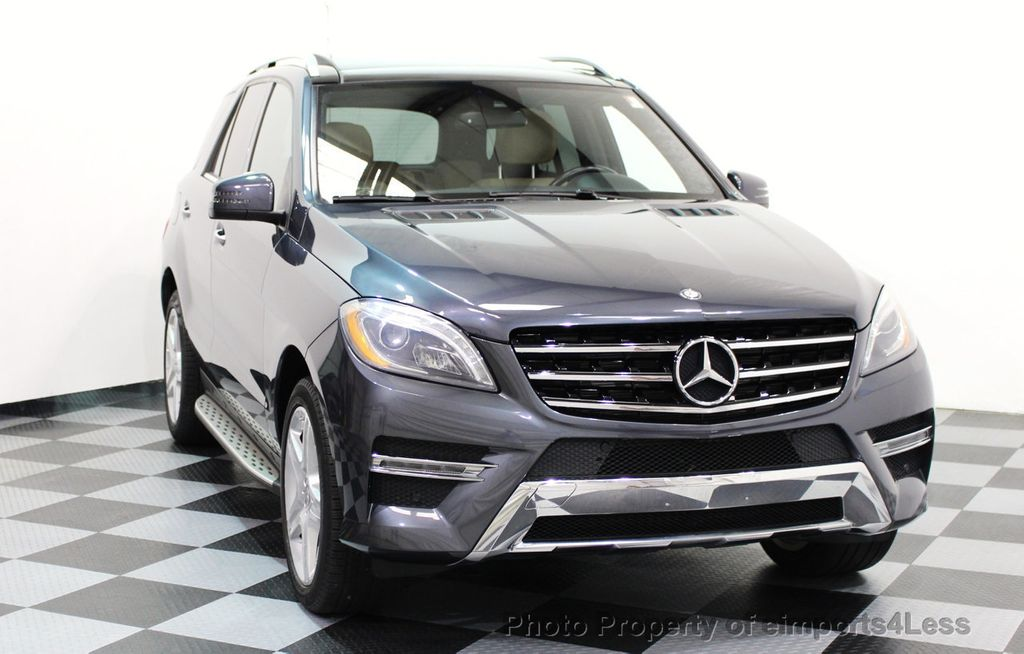 2014 Mercedes-Benz M-Class CERTIFIED ML550 4MATIC V8 AWD PANO CAM NAVI - 16611890 - 25
