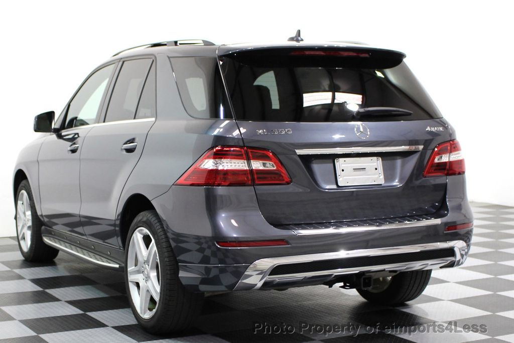 2014 Mercedes-Benz M-Class CERTIFIED ML550 4MATIC V8 AWD PANO CAM NAVI - 16611890 - 26