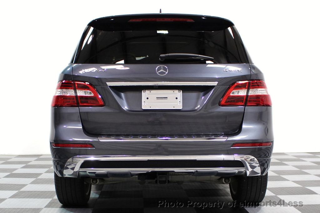 2014 Mercedes-Benz M-Class CERTIFIED ML550 4MATIC V8 AWD PANO CAM NAVI - 16611890 - 27