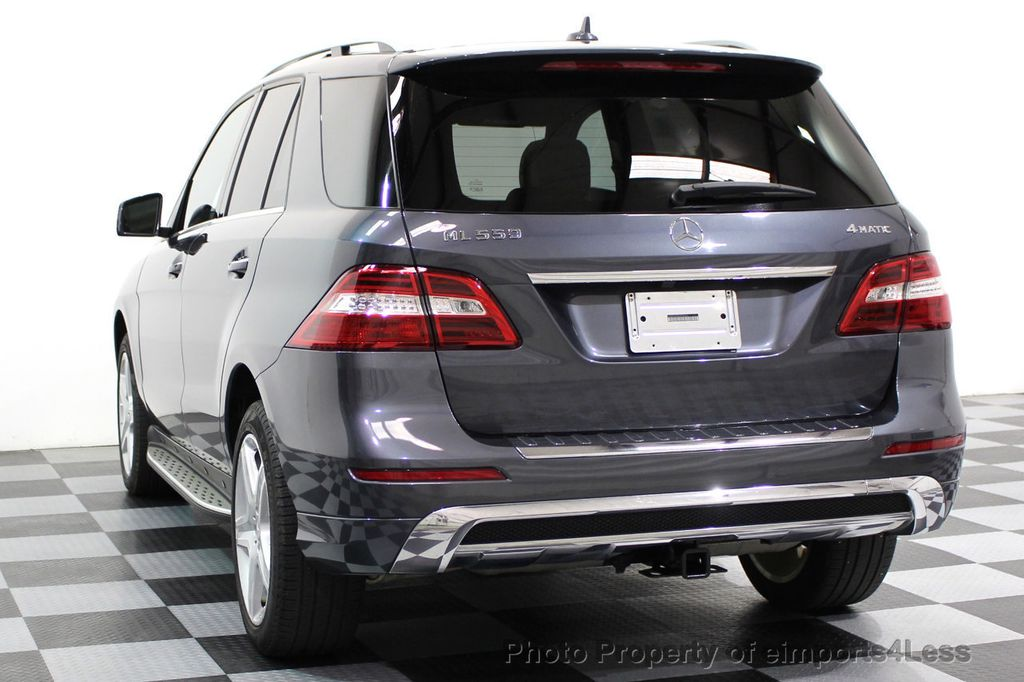 2014 Mercedes-Benz M-Class CERTIFIED ML550 4MATIC V8 AWD PANO CAM NAVI - 16611890 - 2
