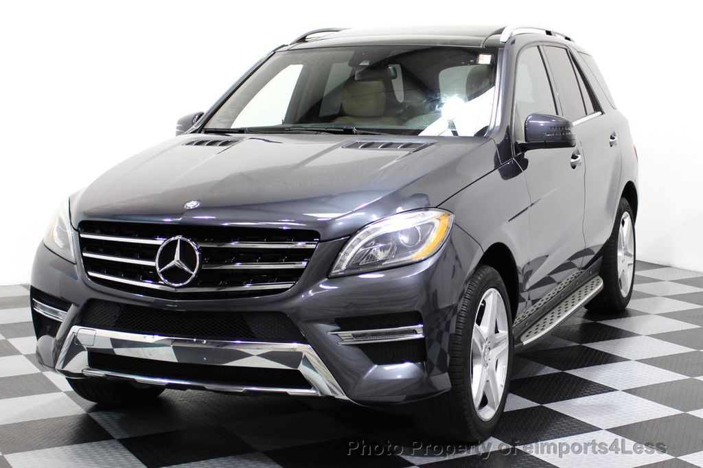 2014 Mercedes-Benz M-Class CERTIFIED ML550 4MATIC V8 AWD PANO CAM NAVI - 16611890 - 38