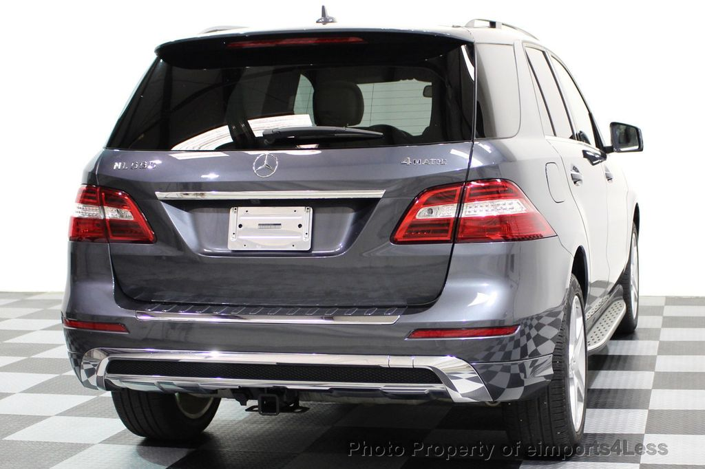 2014 Mercedes-Benz M-Class CERTIFIED ML550 4MATIC V8 AWD PANO CAM NAVI - 16611890 - 41