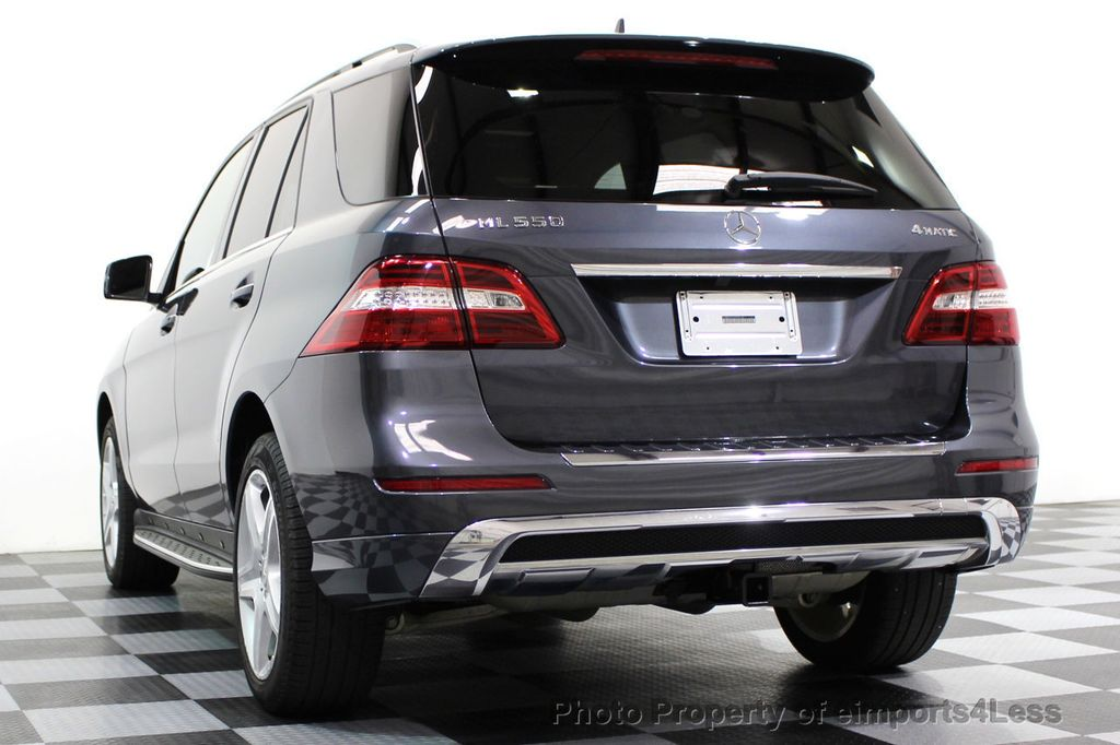 2014 Mercedes-Benz M-Class CERTIFIED ML550 4MATIC V8 AWD PANO CAM NAVI - 16611890 - 50