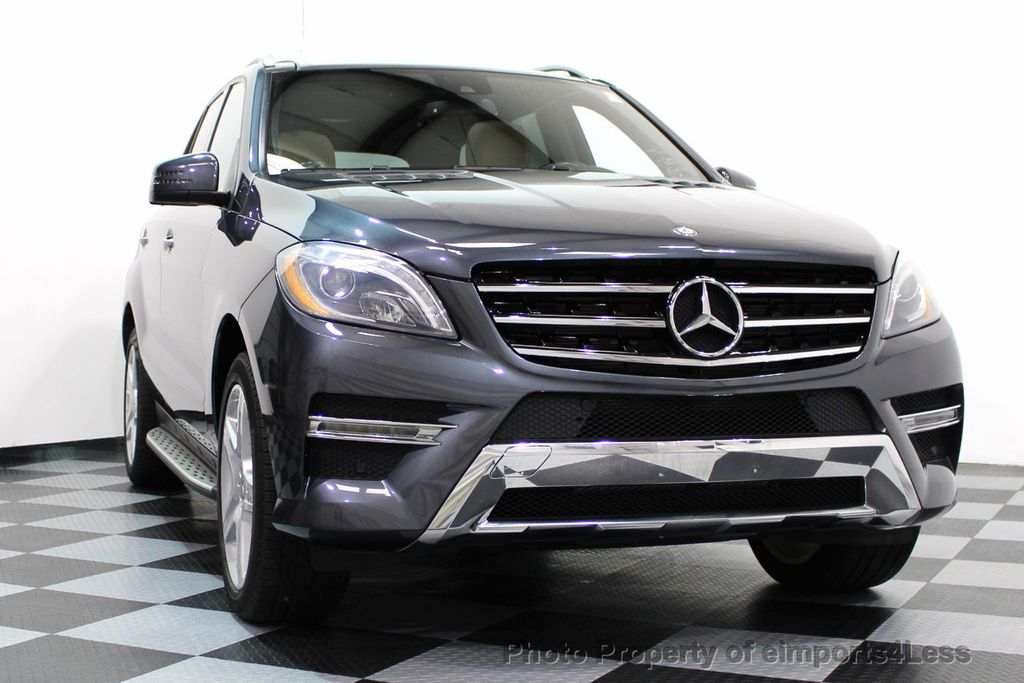2014 Mercedes-Benz M-Class CERTIFIED ML550 4MATIC V8 AWD PANO CAM NAVI - 16611890 - 53