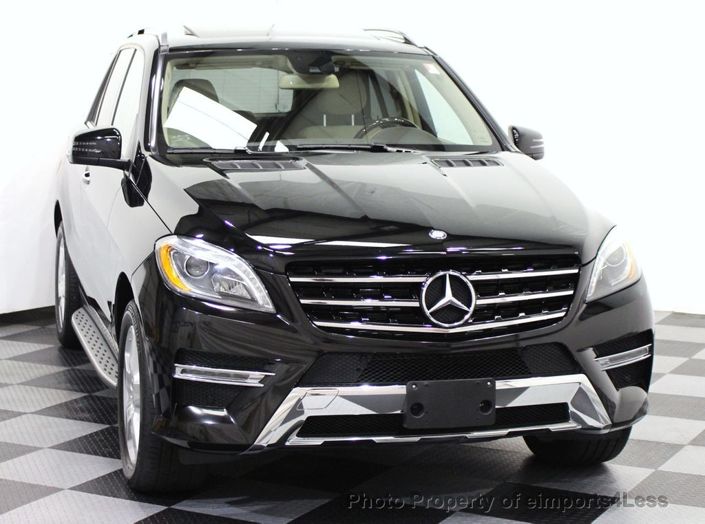 2014 used mercedes benz m class certified ml550 4matic v8 for Certified used mercedes benz for sale