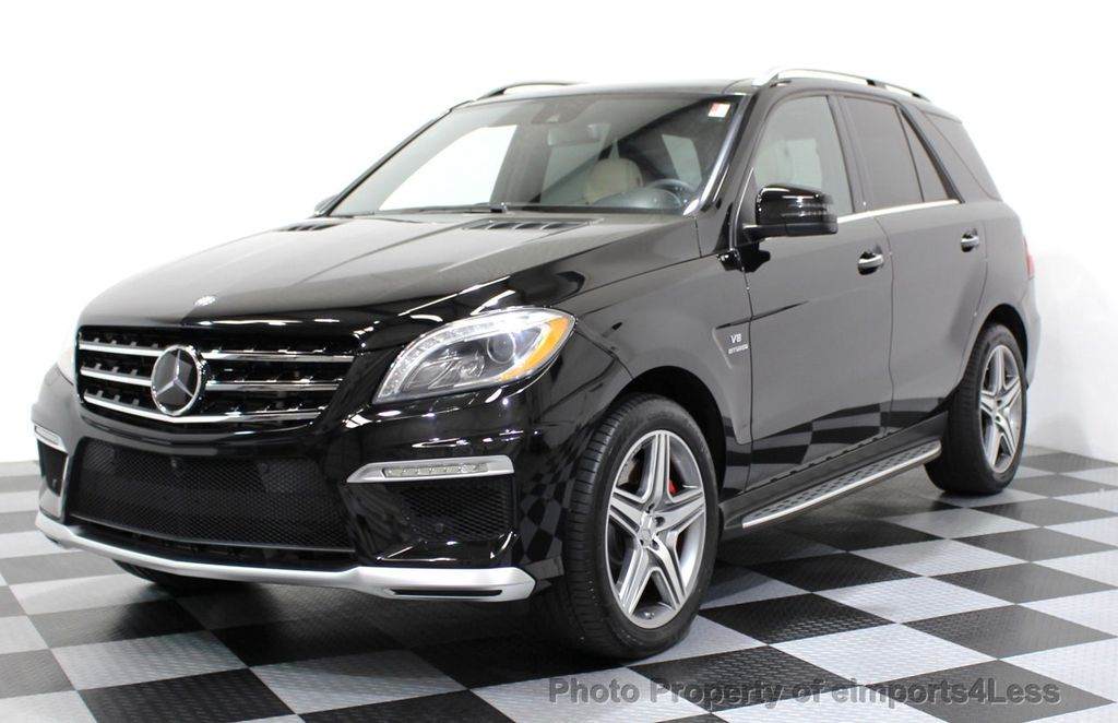 2014 Mercedes-Benz M-Class CERTIFIED ML63 AMG P30 PERFORMANCE PACKAGE - 16774861 - 0