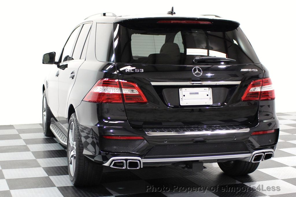 2014 Mercedes-Benz M-Class CERTIFIED ML63 AMG P30 PERFORMANCE PACKAGE - 16774861 - 15