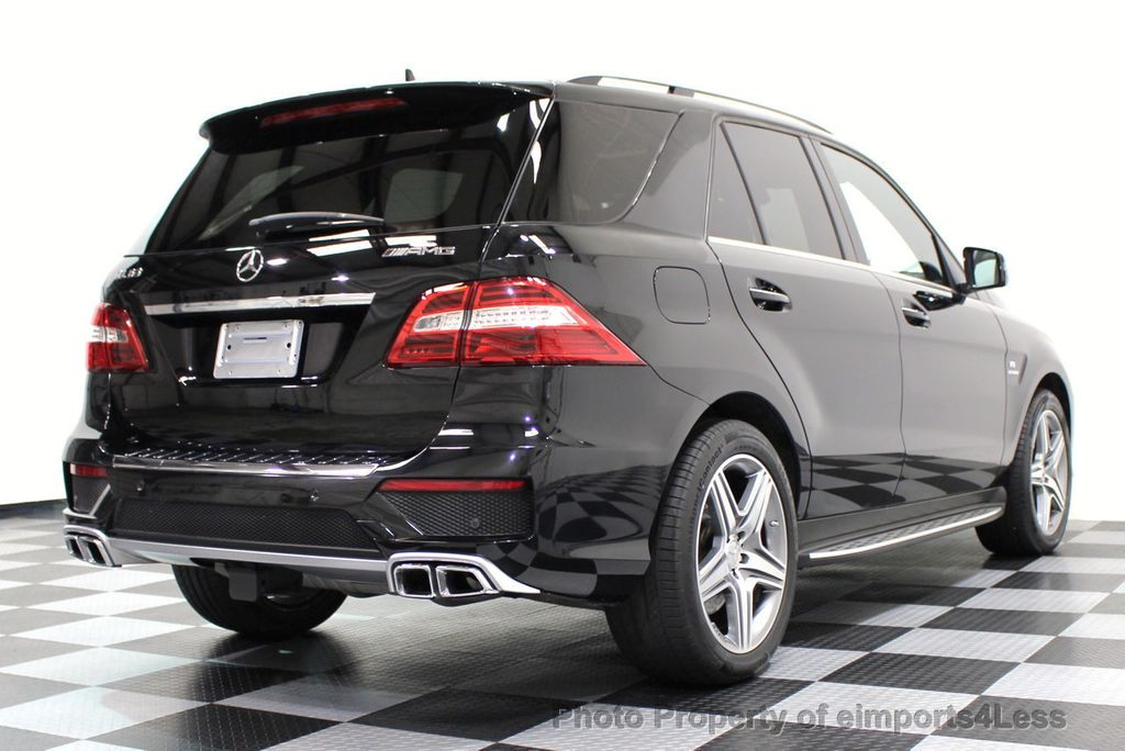 2014 Mercedes-Benz M-Class CERTIFIED ML63 AMG P30 PERFORMANCE PACKAGE - 16774861 - 22