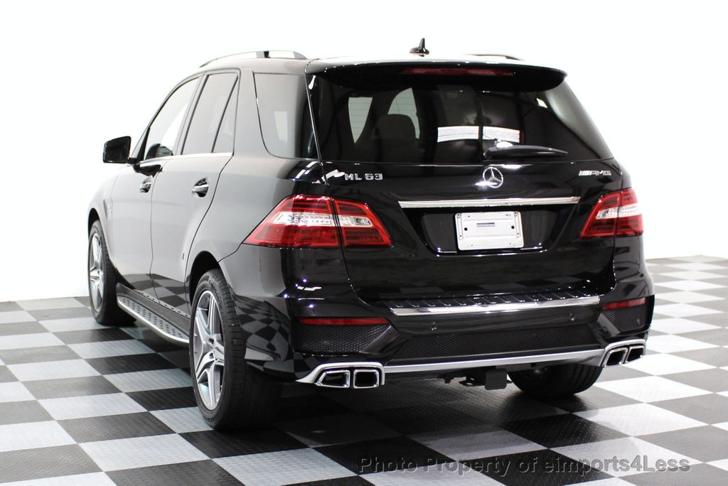 2014 Mercedes-Benz M-Class CERTIFIED ML63 AMG P30 PERFORMANCE PACKAGE - 16774861 - 34