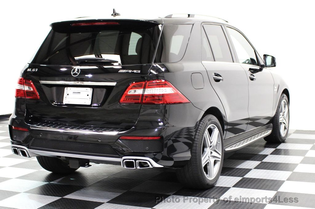 2014 Mercedes-Benz M-Class CERTIFIED ML63 AMG P30 PERFORMANCE PACKAGE - 16774861 - 35