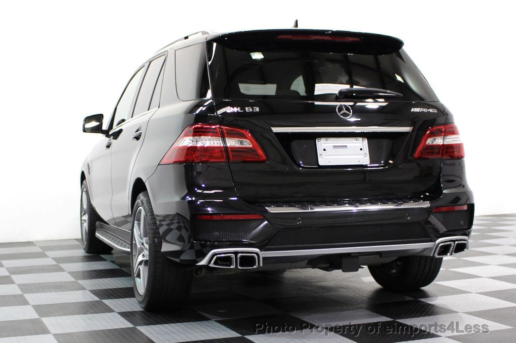 2014 Mercedes-Benz M-Class CERTIFIED ML63 AMG P30 PERFORMANCE PACKAGE - 16774861 - 44
