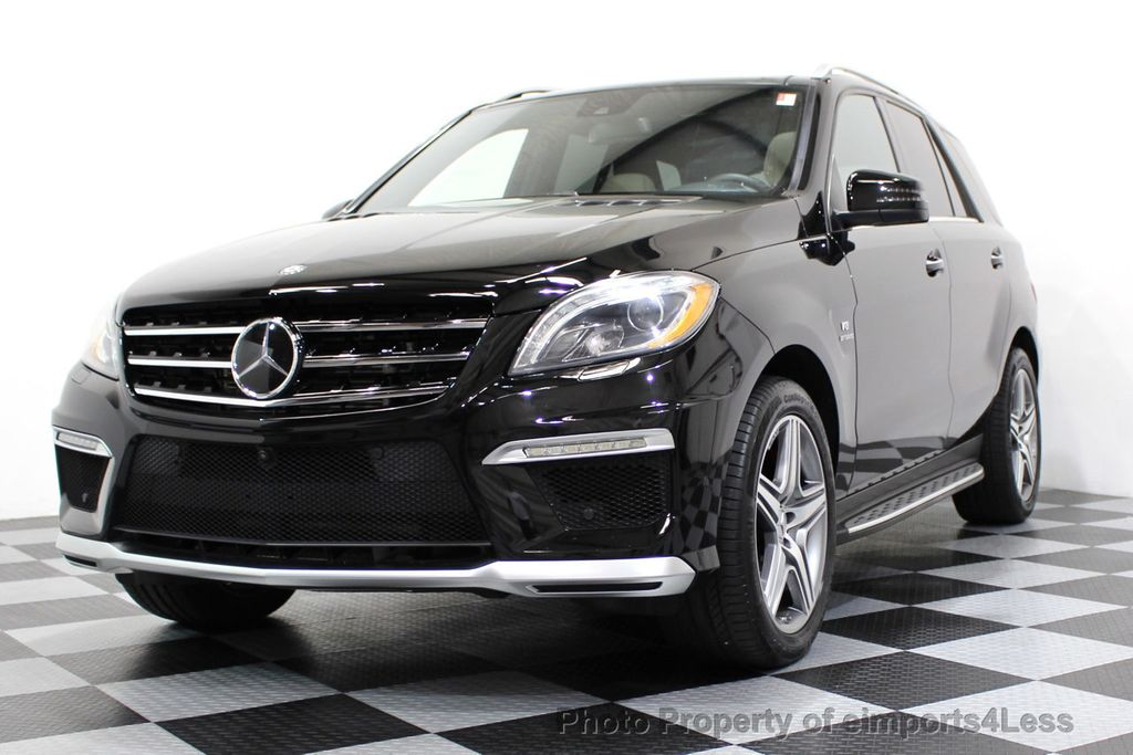2014 Mercedes-Benz M-Class CERTIFIED ML63 AMG P30 PERFORMANCE PACKAGE - 16774861 - 46