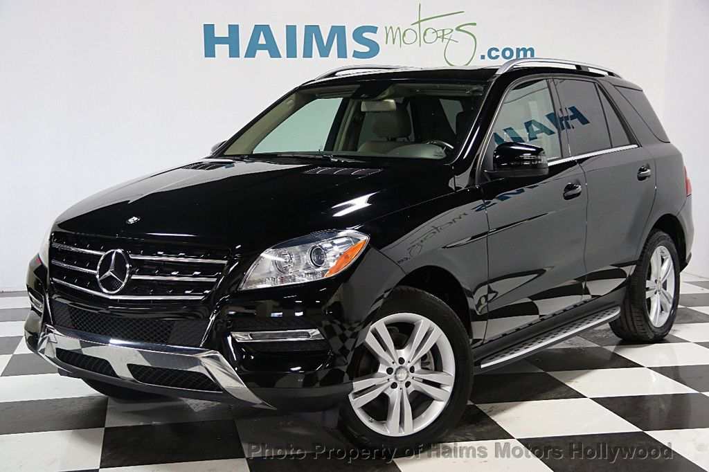 2014 Used Mercedes Benz M Class Ml350 At Haims Motors Ft