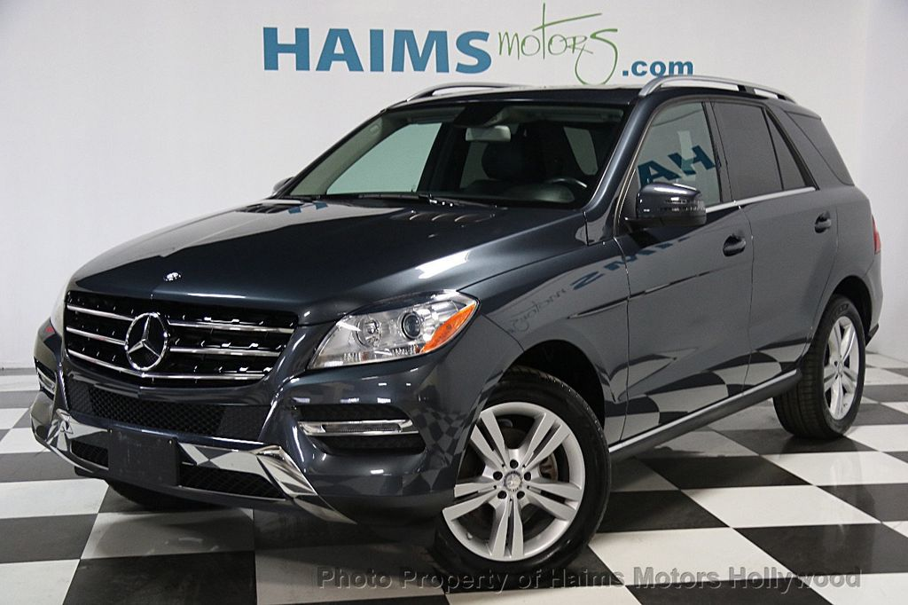 2014 used mercedes benz m class ml350 at haims motors for Ft lauderdale mercedes benz