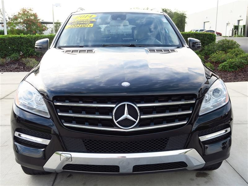 2014 Mercedes-Benz M-Class RWD 4dr ML 350 Not Specified - 4JGDA5JB8EA314830 - 1