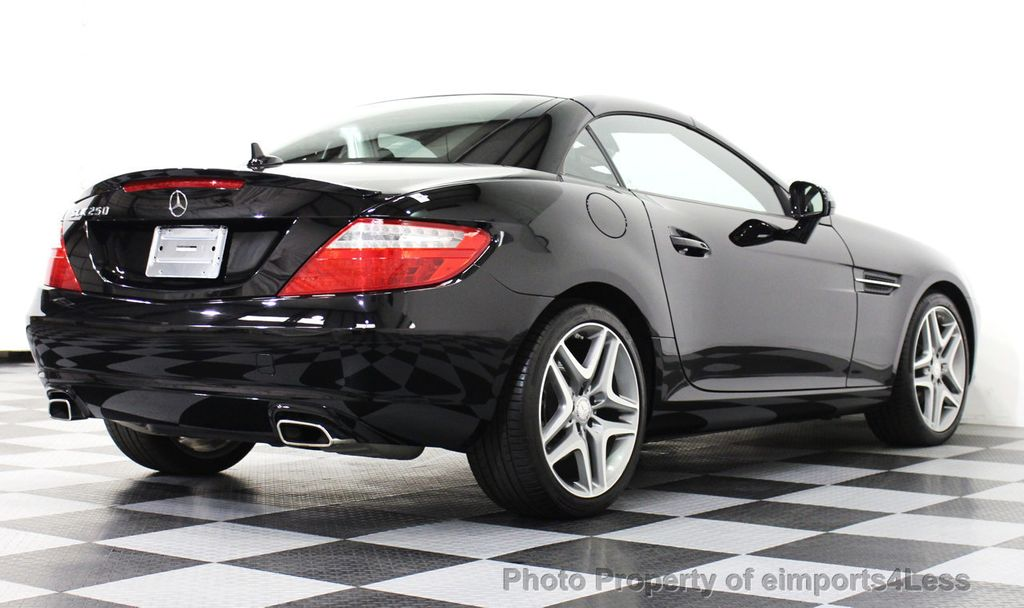 2014 mercedes benz slk certified slk250 convertible hk navigation 14694451 20