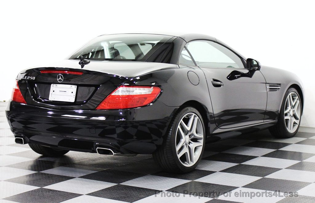 2014 mercedes benz slk certified slk250 convertible hk navigation 14694451 28
