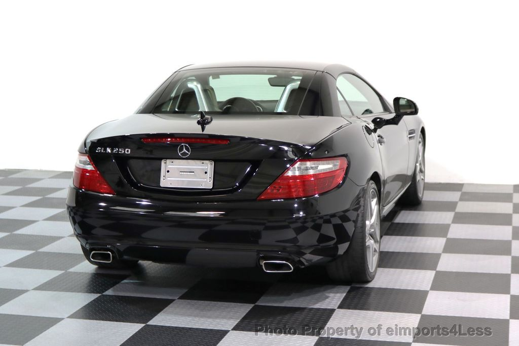2014 Mercedes-Benz SLK CERTIFIED SLK250 ROADSTER HK NAVIGATION - 17143740 - 34