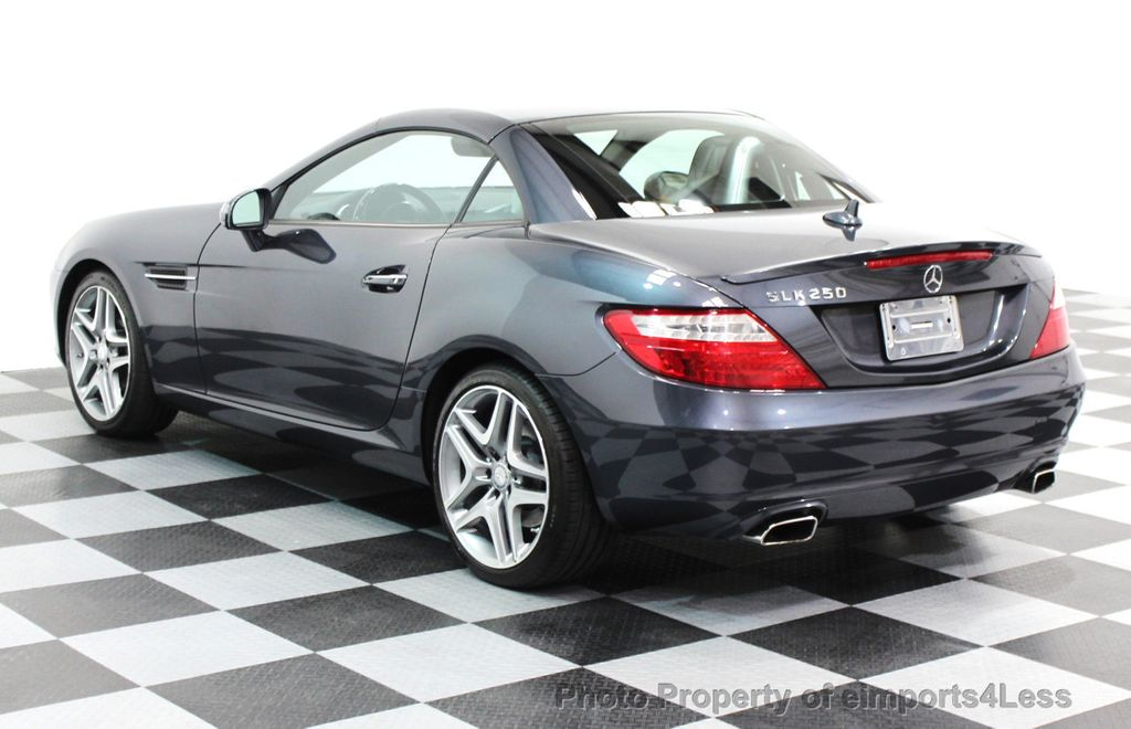 2014 Mercedes-Benz SLK CERTIFIED SLK250 ROADSTER NAVIGATION - 16167106 - 28