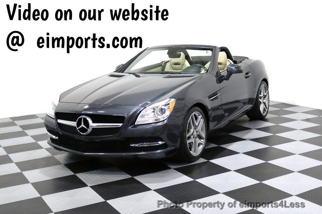 2014 Mercedes-Benz SLK CERTIFIED SLK350  - 17124303 - 0