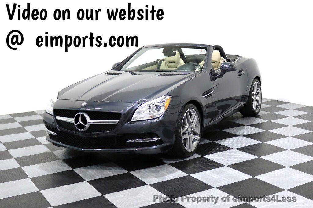 2014 mercedes benz slk certified slk350 convertible for for Mercedes benz used approved
