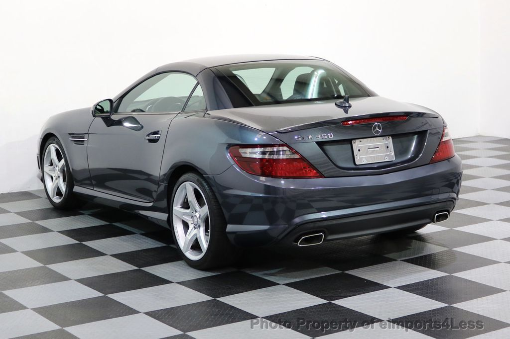 2014 Mercedes-Benz SLK CERTIFIED SLK350 AMG Sport Package DESIGNO INTERIOR - 17369966 - 26