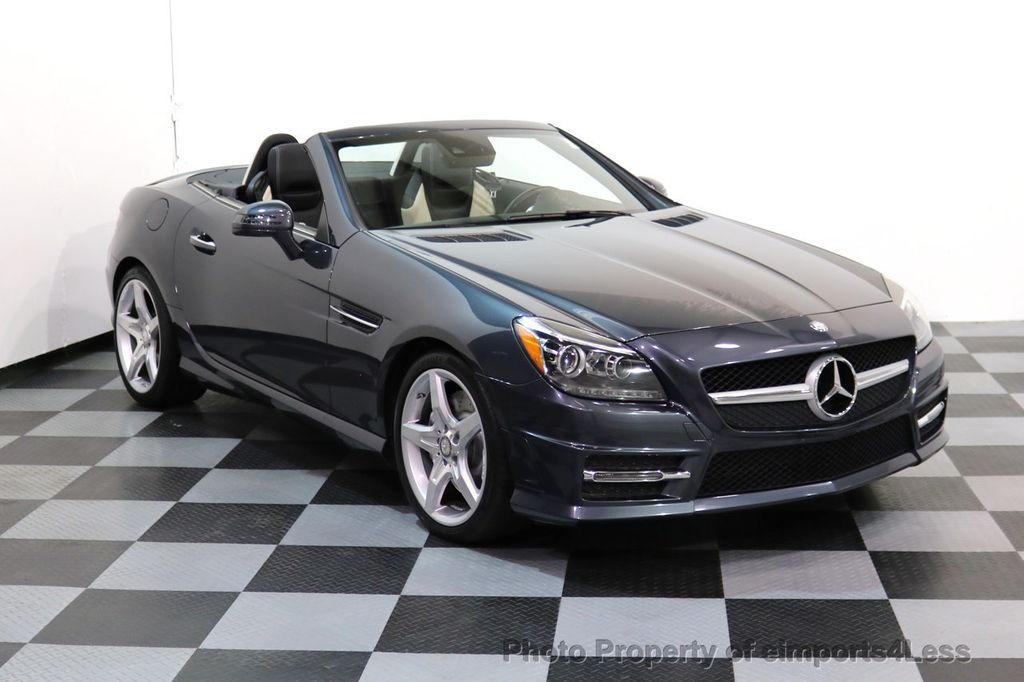 2014 Mercedes-Benz SLK CERTIFIED SLK350 AMG Sport Package DESIGNO INTERIOR - 17369966 - 40