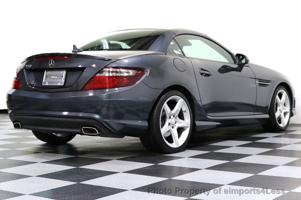 2014 Mercedes-Benz SLK CERTIFIED SLK350 AMG Sport Package DESIGNO INTERIOR - 17369966 - 44