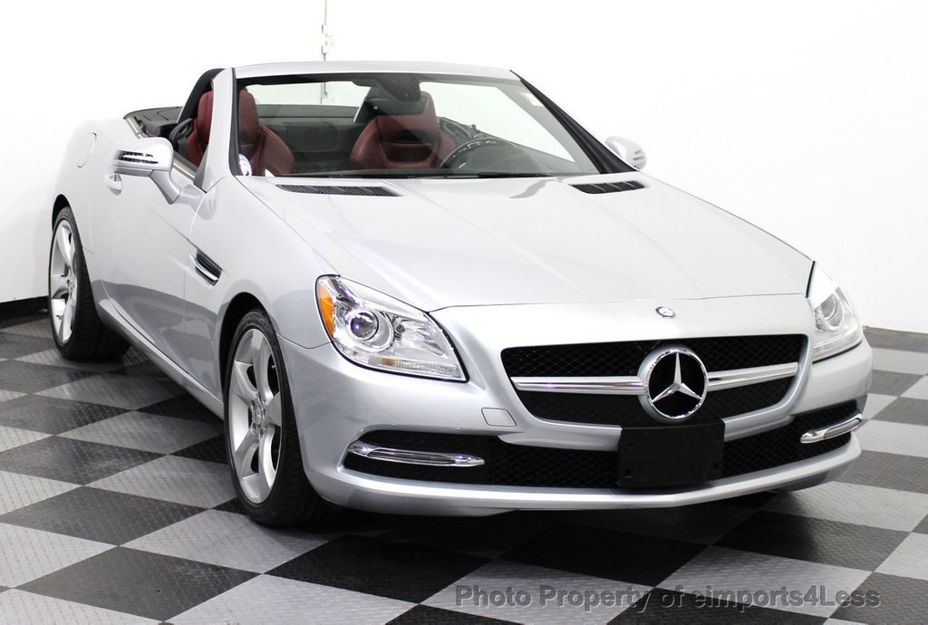 2014 used mercedes benz slk certified slk350 convertible for Mercedes benz convertible used