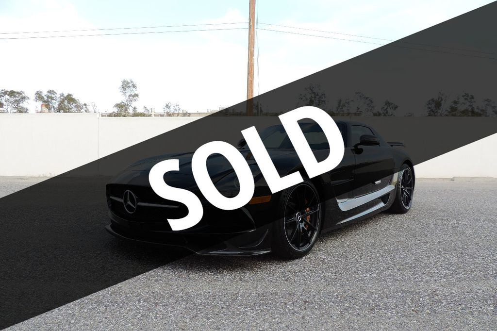 2014 Mercedes-Benz SLS AMG Black Series 2dr Coupe SLS AMG Black Series Coupe - WDDRJ7HA5EA010928 - 0