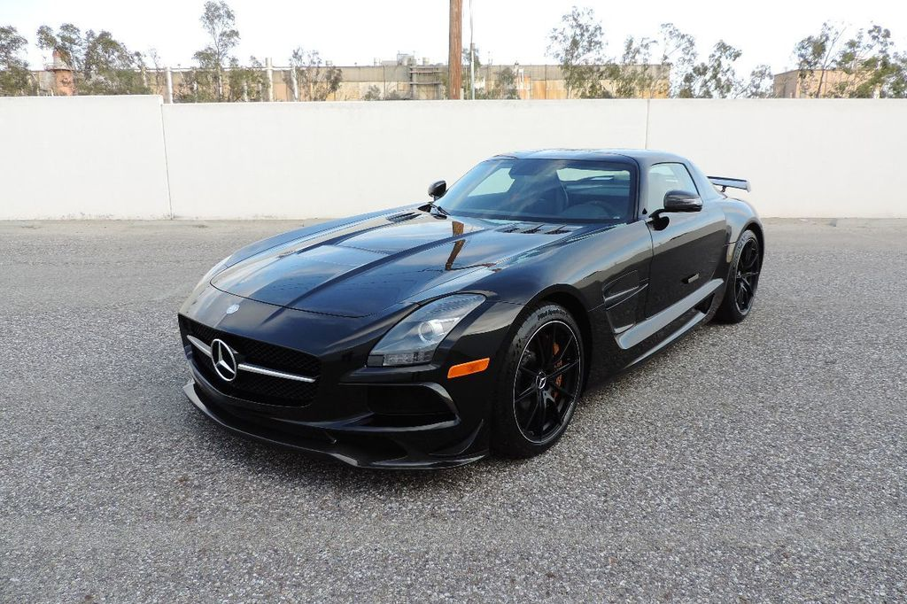 2014 Mercedes-Benz SLS AMG Black Series 2dr Coupe SLS AMG Black Series Coupe - WDDRJ7HA5EA010928 - 1