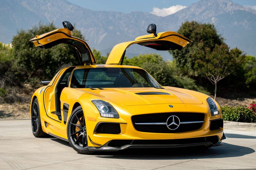 Sls Black Series >> 2014 Used Mercedes Benz 2dr Coupe Sls Amg Black Series At Cnc Motors Inc Serving Upland Ca Iid 18999360