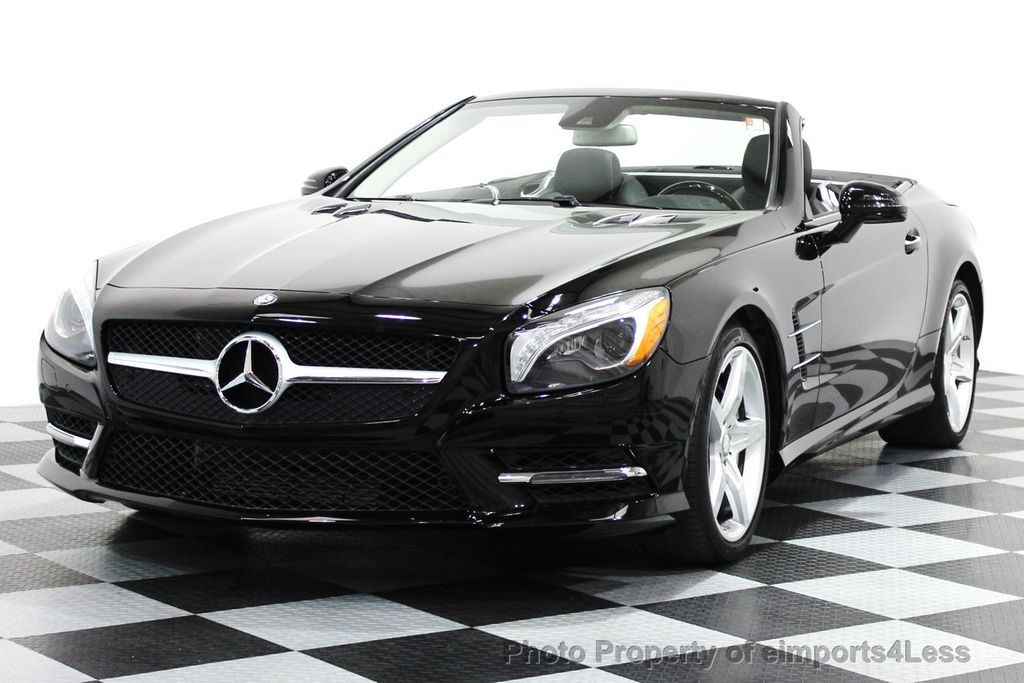 2014 used mercedes benz certified sl550 amg sport convertible at eimports4less serving. Black Bedroom Furniture Sets. Home Design Ideas
