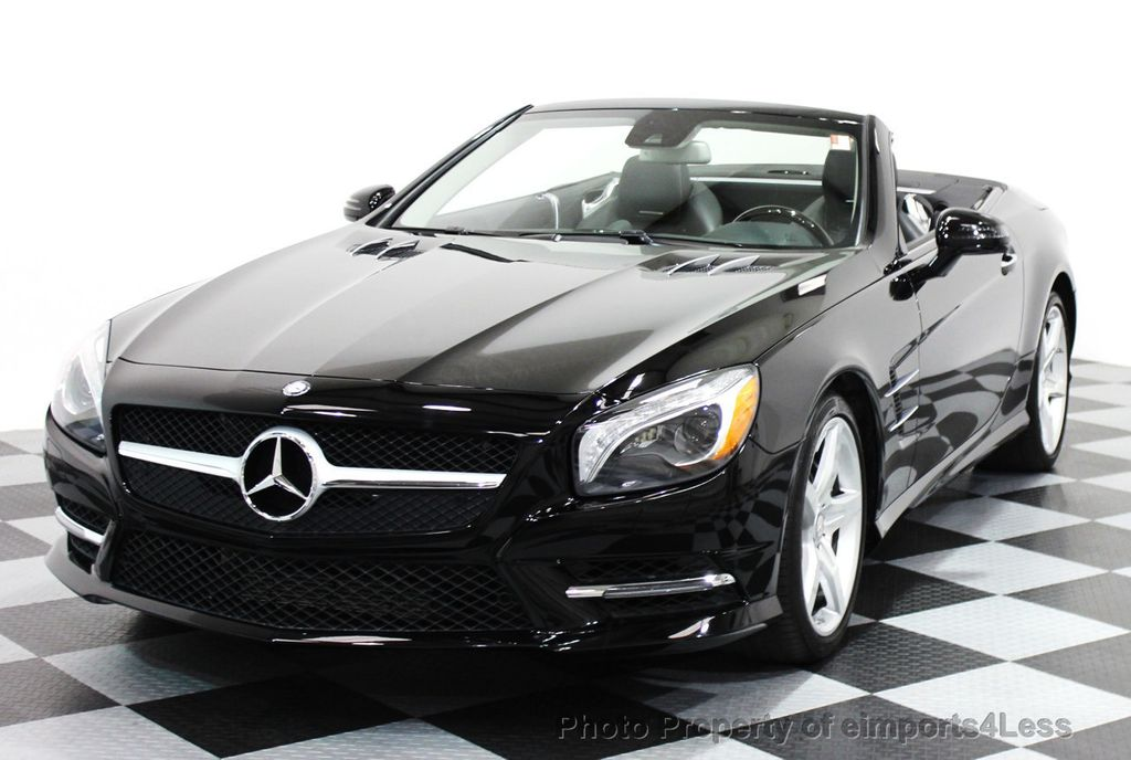2014 used mercedes benz certified sl550 amg sport for Mercedes benz cpo