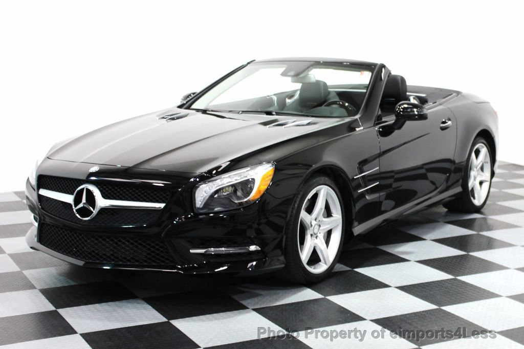 2014 used mercedes benz certified sl550 amg sport for Used mercedes benz sl