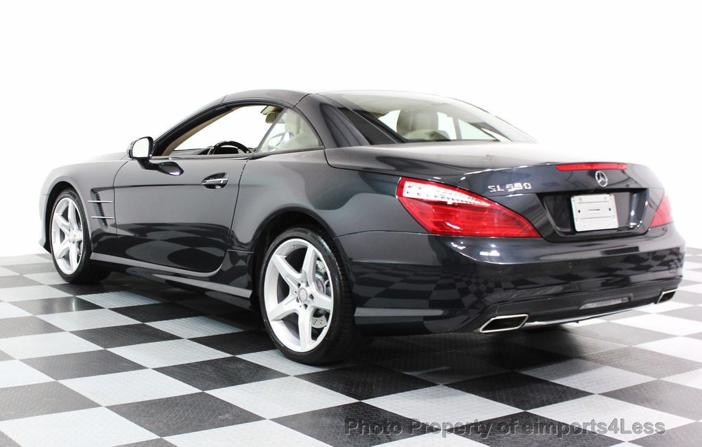 2014 mercedes benz sl class certified sl550 amg sport convertible driver assist 16212539