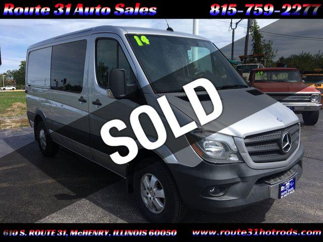 """2014 Mercedes-Benz Sprinter Crew Vans 2500 144"""""""