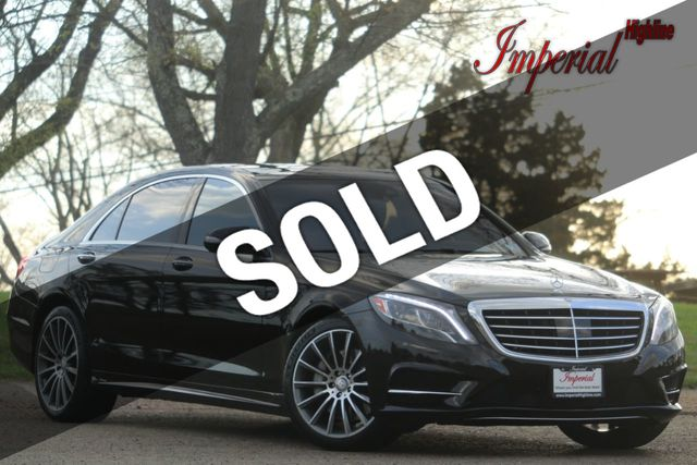 2014 Mercedes-Benz S-Class 4dr Sedan S 550 4MATIC