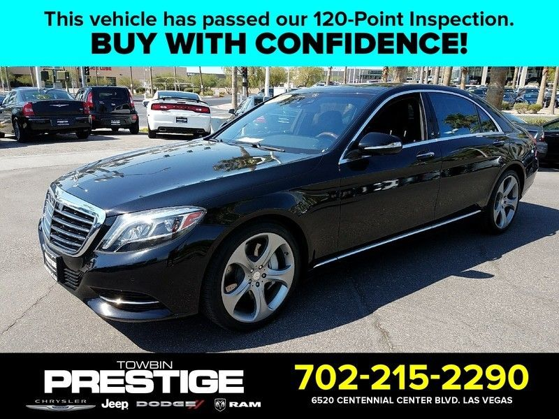 2014 Mercedes-Benz S-Class 4dr Sedan S 550 RWD - 16730566 - 0