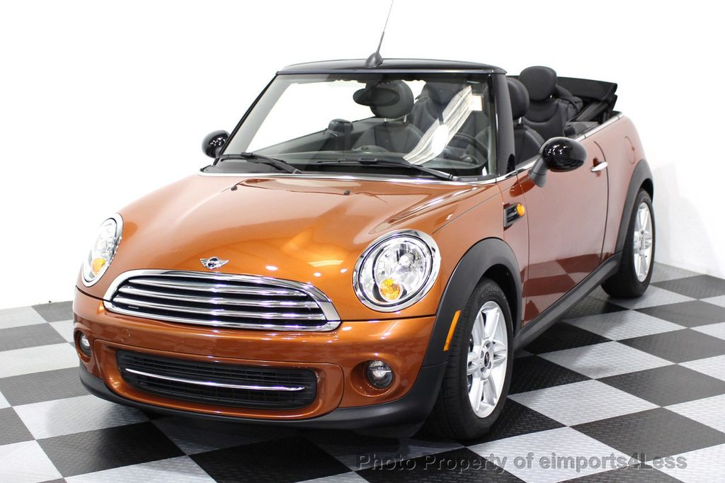 2014 MINI Cooper Convertible CERTIFIED COOPER CABRIOLET 6 SPEED  - 16845294 - 0