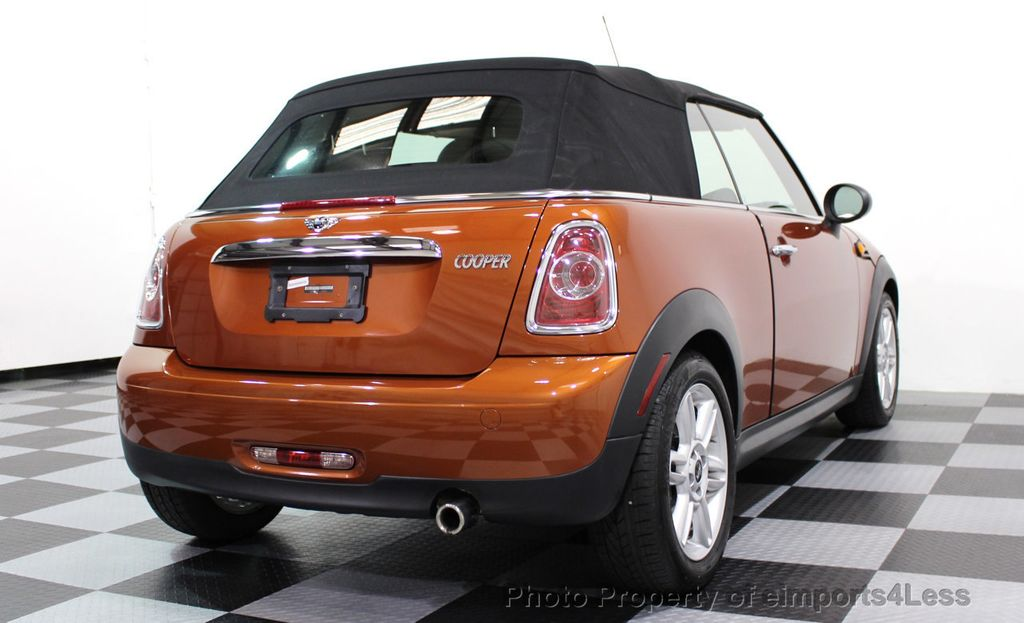 2014 MINI Cooper Convertible CERTIFIED COOPER CABRIOLET 6 SPEED  - 16845294 - 15