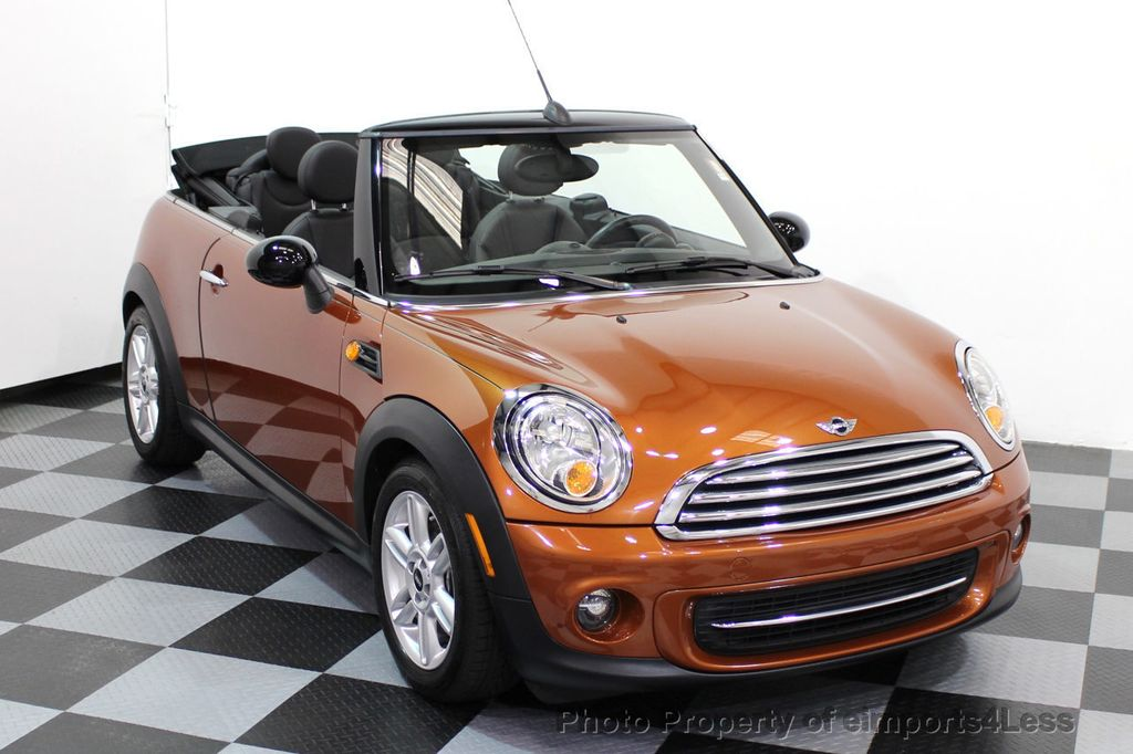 2014 MINI Cooper Convertible CERTIFIED COOPER CABRIOLET 6 SPEED  - 16845294 - 1