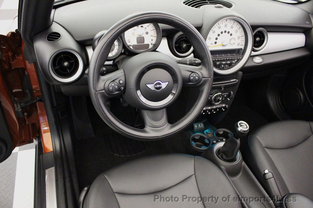 2014 MINI Cooper Convertible CERTIFIED COOPER CABRIOLET 6 SPEED  - 16845294 - 19