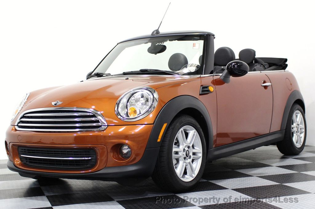 2014 MINI Cooper Convertible CERTIFIED COOPER CABRIOLET 6 SPEED  - 16845294 - 25